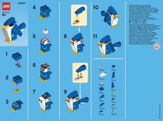 directions for Lego monthly mini build