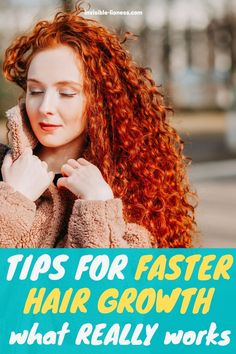 Are you looking for hair growth treatments to make your hair growth faster? You should read these tips instead! Make Hair Grow Faster, Grow Long Hair, Grow Hair, Healthy Hair Tips, Healthy Hair Growth, Hair Growth Tips, Vitamins For Hair Growth, Hair Vitamins, Fast Hairstyles