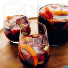Meet the best sangria you'll ever have! Made with fresh fruit, brandy and red wine, this classic red sangria recipe will hit the spot. It's so easy to make!