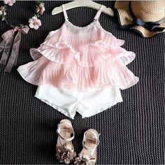 Cute Baby Dresses, Dresses Kids Girl, Little Girl Outfits, Cute Girl Outfits, Kids Outfits, Girls, Kids Dress Wear, Kids Gown, Toddler Fashion