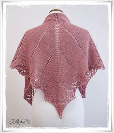 Ravelry: Project Gallery for My first Lace Shawl pattern by Jolanda Schneider