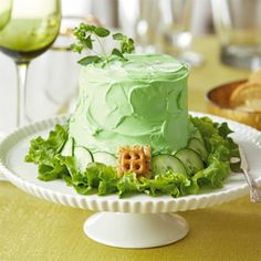 St. Patrick's Day Recipes: Leprechaun's Lucky Hat Cheese Ball