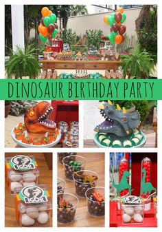 Spoil your mini paleontologist wit this amazing Jurassic Park Themed Party!