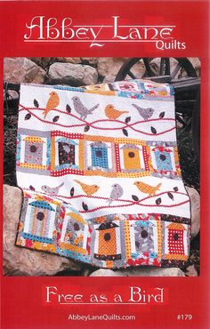 Quilt Pattern - Free As A Bird paper quilt pattern by Abbey Lane Quilts