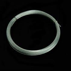 CORDÓN - CABLE DE FERRETERÍA - Ofrecemos en este apartado el cordón o cable de ferretería un material indispensable para soportar o colgar elementos que requieran cierta resistencia. Aquí podrás escoger de acero, galvanizado, inoxidable, ... Material World, Cable, Metal, Bracelets, Silver, Jewelry, Cabo, Jewlery, Jewerly