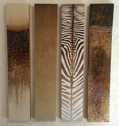 Wildlife panels by Sam Brown