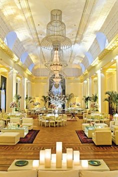 The Copacabana Palace Hotel is the most famous and luxurious hotel in Rio de Janeiro, Brazil.
