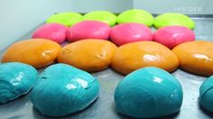 How NY Bagel Cafe & Deli Rainbow Bagels Are Made