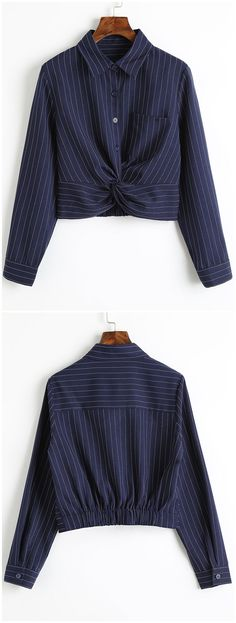 Up to 80% OFF! Twist Cropped Stripes Shirt. #Zaful #Tops zaful,zaful outfits,spring outfits,spring break,summer dresses,Valentine's Day,Valentine's Day gift,valentines day ideas,valentines outfits,cute,casual,classy,women fashion,fashion,teen fashion,products,tops,blouse,embroidered blouse,shirts,striped shirts,T-shirt,tees,t shirts,teeshirts,tank tops,crop tops,shirts,clothes,tunic tops,summer tops,lace top,ladies shorts,elegant outfits @zaful Extra 10% OFF Code:ZF2017