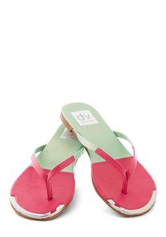 Piazza Tour Sandal in Watermelon, #ModCloth