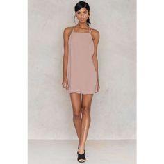 Bulma Dress (215 ILS) ❤ liked on Polyvore featuring dresses, criss cross back dress, woven dress, thin dress, cross back dress and braid dress