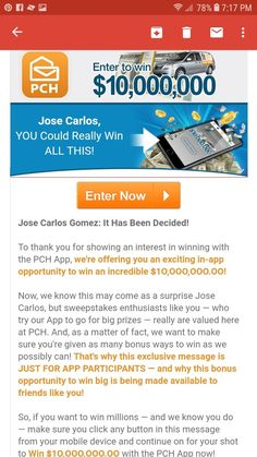 i jose carlos gomez claim Instant Win Sweepstakes, Online Sweepstakes, 2019 Ford Explorer, Win For Life, Michael Collins, Publisher Clearing House, Congratulations To You, Lucky Penny, Winning Numbers