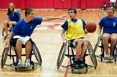 Charity wheelchair basketball game raises awareness, funds for muscular dystrophy, wheelchair basketball team