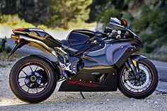 MV Agusta F4CC, currently the world's most expensive (limited) production sport bike at $120,000.