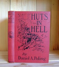 Antique Book Huts in Hell by Daniel Poling by CrookedHouseBooks