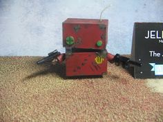AlexZ Art: Customs. Jellybot Warbot  sculpt by The Jelly Empire and painted and modified by AlexZ Art