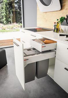 Home Decor Kitchen, Kitchen Living, New Kitchen, Interior Design Living Room, Kitchen Cupboard Designs, Modern Kitchen Cabinets, Kitchen Design, Kitchen Organization Pantry, Kitchen Storage