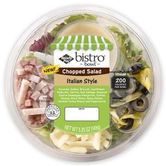 Ready Pac Bistro Salads  5-7 Points Plus per salad making them a perfect grab and go meal for Weight Watchers.