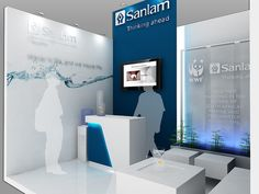 "Sanlam Exhibition Stand For COP 17 - Detail by XZIBIT`S ""EYE LOVE CANDY"", via Flickr"