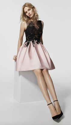 Featured Dress Pronovias; Evening dress idea. Abiti Gala, Abiti  Appariscenti, Abiti