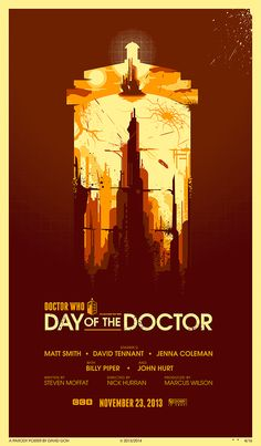 Day of the Doctor- Created by David Goh
