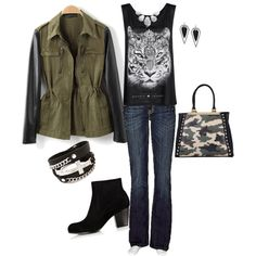 """""""Tigeress"""" by heather767 on Polyvore"""