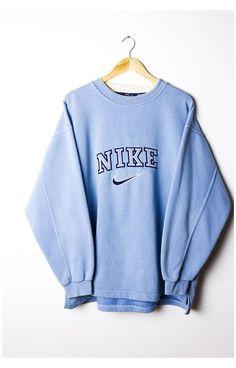 Nike Outfits, Teen Fashion Outfits, Retro Outfits, Vintage Outfits, Cute Lazy Outfits, Trendy Outfits, Cool Outfits, Trendy Hoodies, Cute Sweatshirts