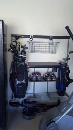30 Best Golf Organizer For Garage Images Organization