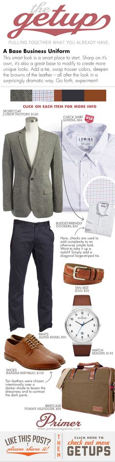 The Getup: A Base Business Uniform - Primer - Part 2