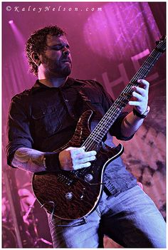 Dustie Waring - Between The Buried And Me by kaleynelson, via Flickr