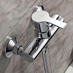 vonMorden massivem Messing Dusche Wasserhahn Chrom-Finish