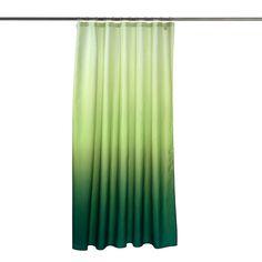 Duschvorhang FARBVERLAUF ca. B:180 x L:200 cm grün  Farbe: grün Maße: ca. B:180 x L:200 cm  Ein Statement dekorativer Extraklasse setzen Sie in Ihrem Badezimmer mit diesem attraktiven Duschvorhang. Das stilvolle Design mit einem schönen Farbverlauf in frischen Grüntönen macht das Stück zum ansprechenden Hingucker.  11,99€