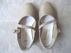 Vintage Loshins Tan Tap Dancing Type Shoes