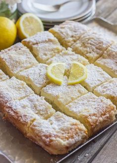 Greek Yogurt Cream Cheese Lemon Coffee Cake Recipe ~ light lemon flavor, sweet, moist coffee cake, and crunchy, crumbly topping. used only greek yogurt and s. cream for the c. Lemon Desserts, Lemon Recipes, Just Desserts, Sweet Recipes, Greek Desserts, Yogurt Recipes, How Sweet Eats, Cookies Et Biscuits, Coffee Cake