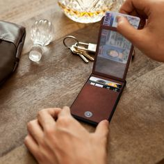 Keeper, a clip-on wallet case for the iPhone, submitted by Don Darnell.