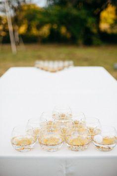 gold glitter beer pong (!)