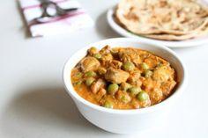 Mushroom Mutter Recipe – Matar Mushroom Curry | Spice up the Curry