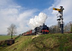 Let off steam at Hampshire's preserved Steam Railway! Travel behind Watercress Line's large majestic steam locomotives as they work hard along the wonderfully scenic and steep 10 mile line between Alton & Alresford.