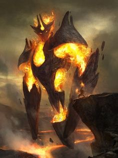 Fire Construct by Gal Or : ImaginaryElementals