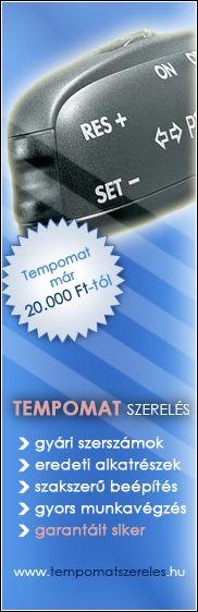 Tempomat beszerelés akció, már 20.000Ft-tól! Utólagos tempomat beszerelés is! Gyári szerszámok, eredeti alkatrészek!