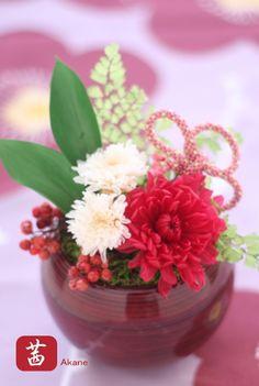 Akane / preserved flower arrangement