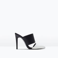 Image 1 of HIGH-HEELED MULES from Zara