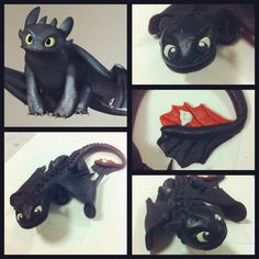Post with 11 votes and 1924 views. Something I worked on today with marzipan. Toothless the cake topper! 8th Birthday Cake, Dragon Birthday Parties, Dragon Party, Toothless Party, Toothless Cake, Toothless Dragon, Beautiful Birthday Cakes, Dragon Cakes, Dragons