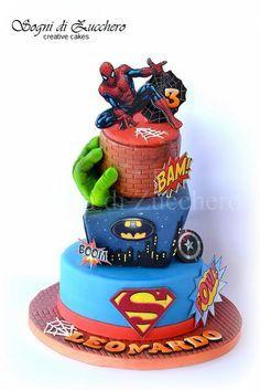batman bat signal cake - Cerca con Google