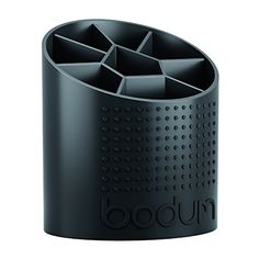 buy now   £12.00   The Bodum Bistro Utensil Holder keeps all of your kitchen tools and gadgets at the ready. It features a non-slip rubber base with a built in centre  ...Read More