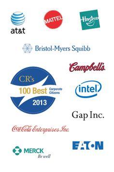 10 Top Companies from the CR Magazine 2013 100 Best Corporate Citizens List http://www.miratelinc.com/blog/10-top-companies-from-the-cr-magazine-2013-100-best-corporate-citizens-list/ #CSR #CSRbusiness