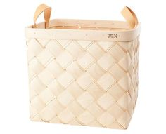 Verso Design Lastu Birch Basket L   Tiinathestore