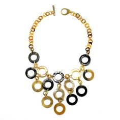 QueCraft Horn Chain Necklace - Q4187