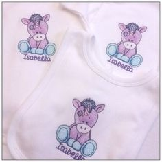 Baby Gift Sets, New Baby Gifts, Girl Gifts, Main Colors, Colours, Toddler Backpack, Personalised Baby, Baby Vest, Unicorn Gifts