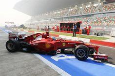 Fernando Alonso (ESP) Ferrari F2012.  Formula One World Championship, Rd17, Indian Grand Prix, Buddh International Circuit, Greater Noida, New Delhi, India, Practice, Friday, 26 October 2012